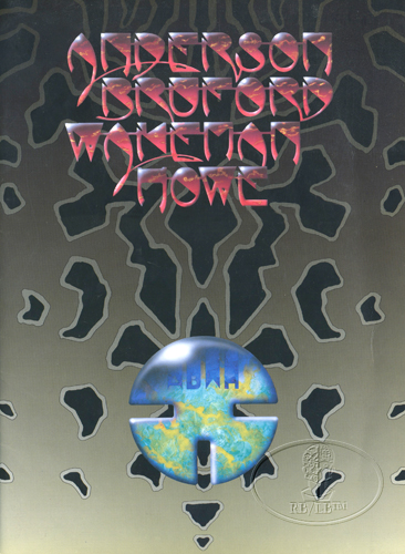 ANDERSON BRUFORD WAKEMAN HOWE 1989 Tour Concert Program Programme YES