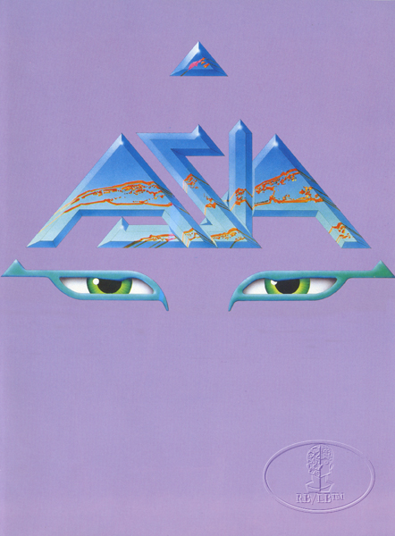 ASIA 1983 Tour Concert Program Book Programme