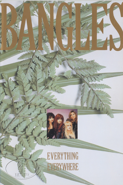 BANGLES 1988 EVERYTHING Tour Concert Program Book Programme