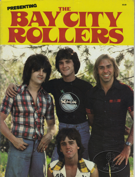 BAY CITY ROLLERS 1977 Tour Concert Program Book Programme