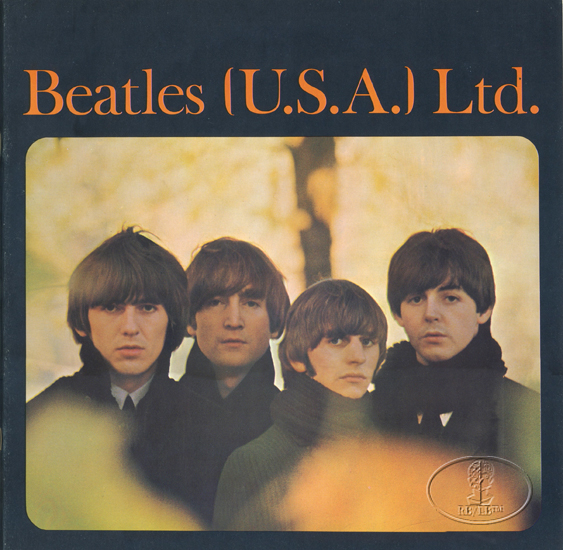 BEATLES 1965 USA TOUR CONCERT PROGRAM Programme BOOK