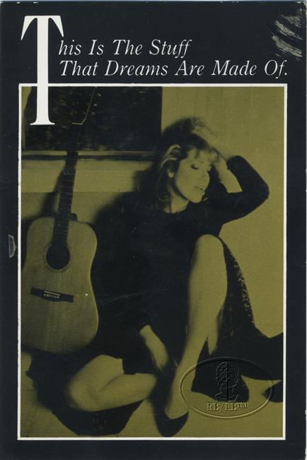 Carly Simon 1987 Promotional Postcard