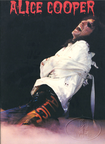 ALICE COOPER 1978 FROM THE INSIDE Tour Program Programme Book