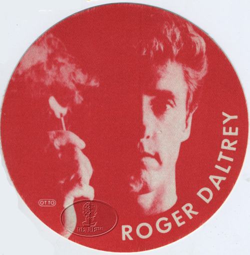ROGER DALTREY 1985 TOUR BACKSTAGE PASS THE WHO