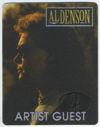 AL DENSON 1992 Tour Backstage Pass