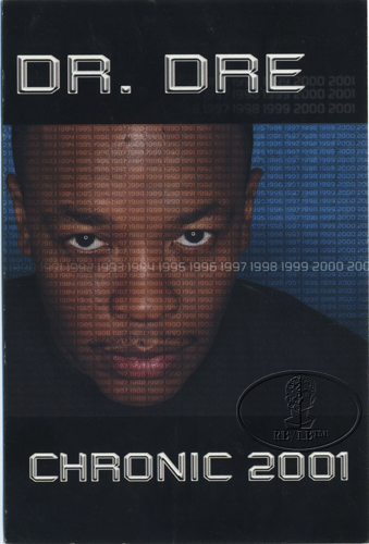 Dr. Dre 1999 Chronic 2001 Promotional Postcard