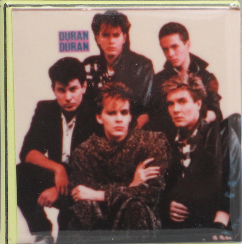 DURAN DURAN 1980s PIN BUTTON PINBACK