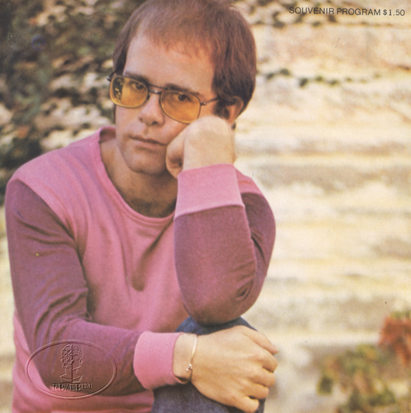 ELTON JOHN 1972 HONKY CHATEAU Tour Concert Program Programme Book