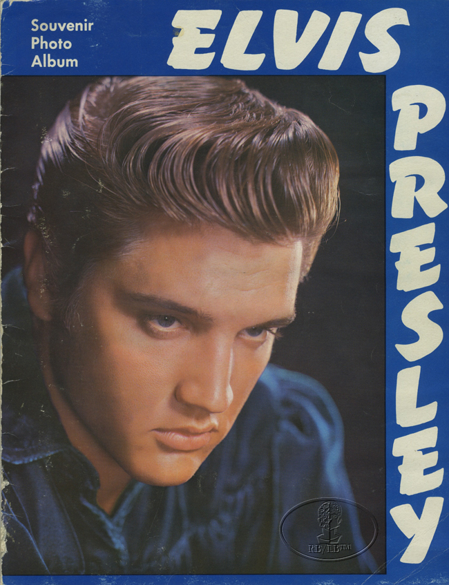 ELVIS PRESLEY 1956 TOUR CONCERT PROGRAM Programme Book