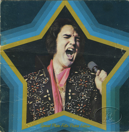 ELVIS PRESLEY 1974 TOUR CONCERT PROGRAM Programme Book BLUE mini