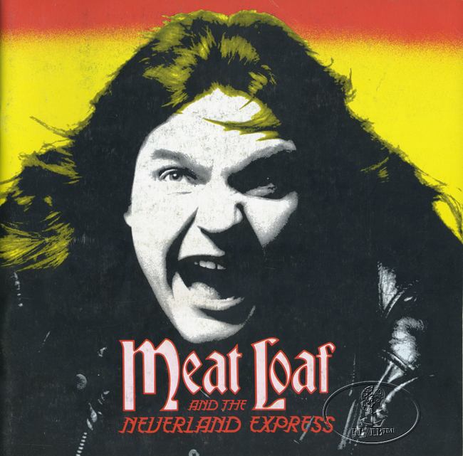 MEAT LOAF 1984 BAD ATTITUDE TOUR CONCERT PROGRAM BOOK Programme