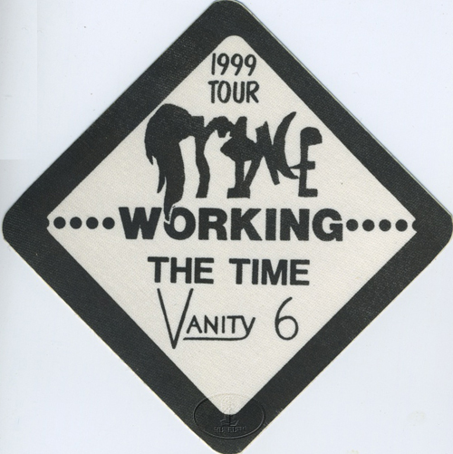 "PRINCE 1982 ""1999"" TOUR CREW BACKSTAGE PASS w/ THE TIME"