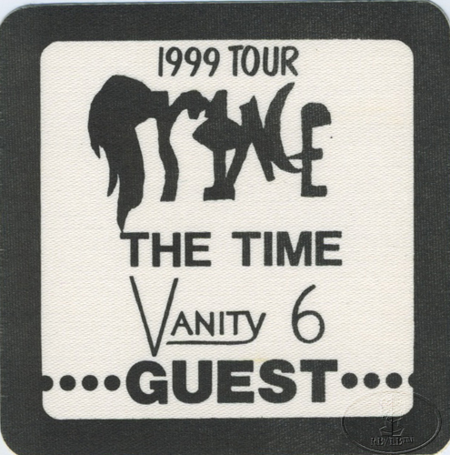 "PRINCE 1982 ""1999"" TOUR CREW BACKSTAGE PASS Guest black"