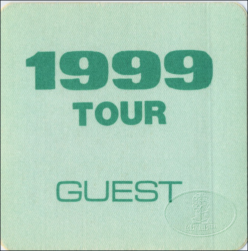 "PRINCE 1982 ""1999"" TOUR BACKSTAGE PASS Guest"