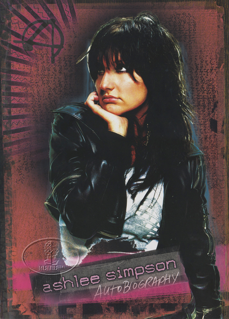 ASHLEE SIMPSON 2005 Tour Concert Program Book Programme