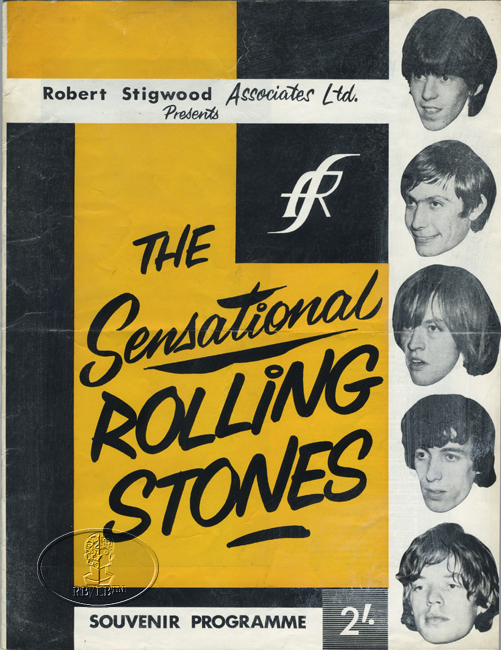 ROLLING STONES 1964 UK 2nd Leg Tour Concert Program Programme Book