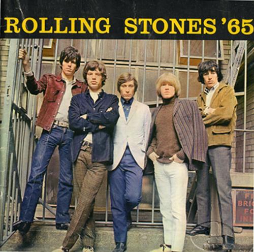 ROLLING STONES 1965 U.S. Tour Concert Program Programme Book