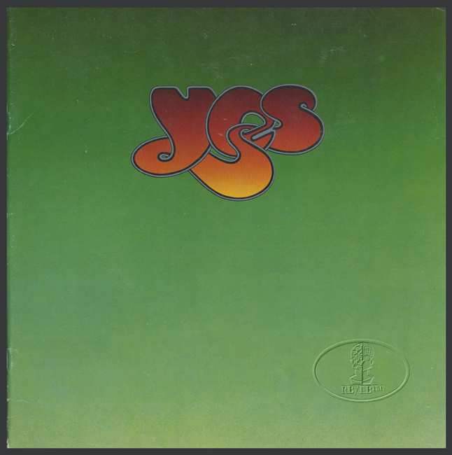 YES 1976 AMERICAN SOLO Tour Concert Program Programme Book